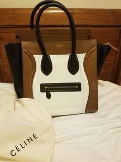 Celine Luggage medium tote