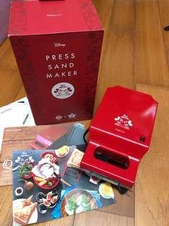 🚚 日本購回 francfrnac x Disney 限定版米奇熱壓吐司機