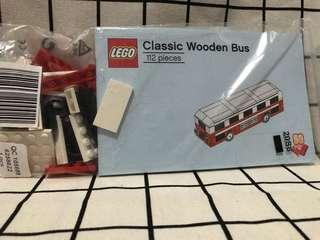 Lego Classic Wooden Bus 巴士