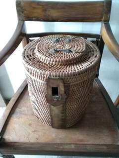 Vintage old basket
