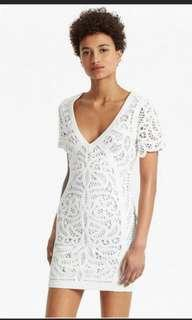 French Connection USD158 Off White/ cream dress