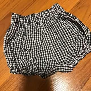 Checked Bloomer Shorts