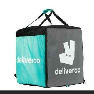 |PRE-OWNED| DELIVEROO BOX BAG