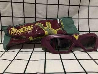 (限定)Marvel Avengers 3D眼鏡 Vision 幻影