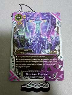 Buddyfight - The Chaos Upgrade Foil Card