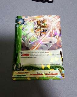 Buddyfight - Fuuton, Tengou Draft Rare Card