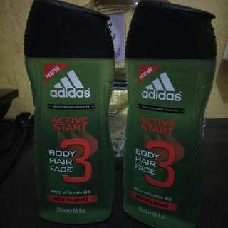 Adidas Body, hair, face