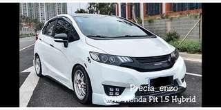 2018 Honda Fit 1.5 Hybrid Door Visor (Mugen)