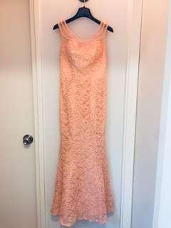小魚尾Evening gown