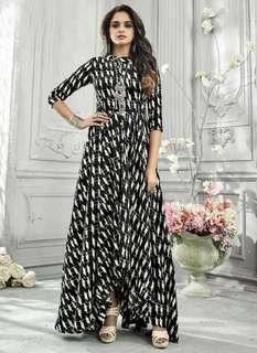 Western design dresses