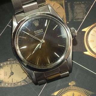 舊裝Rolex 勞力士Boy size 50-60年代Speedking古董手錶