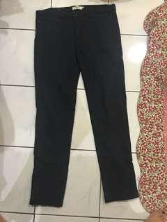 Industrie Blue Black Pants
