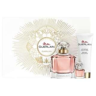 🚚 GUERLAIN MON GUERLAIN EDP 3 PCS GIFT SET FOR WOMEN (100ml+10ml+Body Lotion) Eau de Parfum