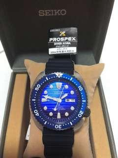 Seiko Save the Ocean Turtle Blue SBDY 021