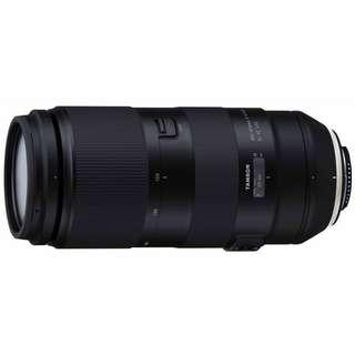 Tamron 100-400mm F4.5-6.3 Di Vc USD Lens For Canon Or Nikon