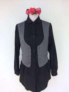 Polo Dress with Vest