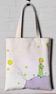 The Little Prince Classic Tote Bag (White)
