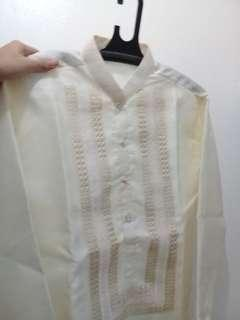 Imported Barong Tagalog for men- Brand new