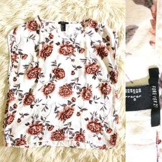 Forever21 top flower #mauiphonex