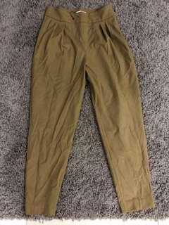 MNG Suit BNWT Tapered Pants in Camel