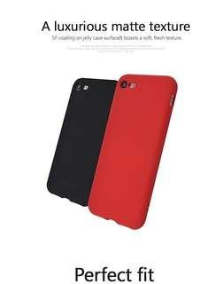 Anti finger print matt anti shock case shockproof cover