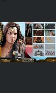 Hot Toys Wonder Woman Justice League Deluxe Version 1/6