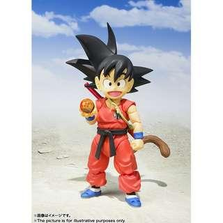 Pre-Order for S.H.Figuarts (Dragonball) - Son Goku -Childhood- (Reissue)