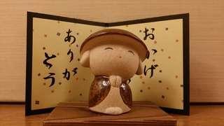"""日本""""感謝""""陶瓷小擺設#日本直送#Made in Japan"""