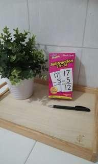 BN Subtraction Flash Cards $10