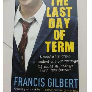 Book- last day of term