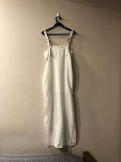 YHF white maxi dress