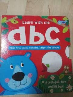 ABC push, pull, turn and lift book