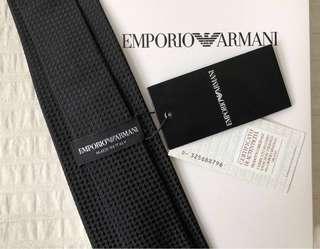 BNWT Authentic Emporio Armani Silk Tie New with Tag