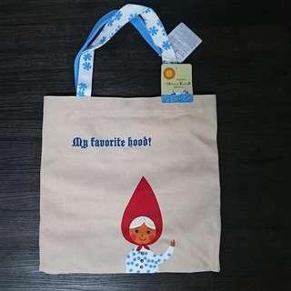 Shinzi Katoh Little Red Riding Hood Canvas Tote Bag
