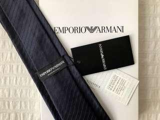 BNWT Authentic Emporio Armani Silk Tie New with Tag