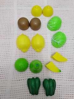 Paket buah dan sayur potong
