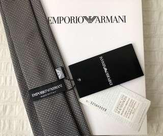 BNWT Authentic Emporio Armani Tie New with Tag