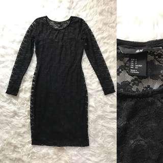 H&M Midi Lace Dress
