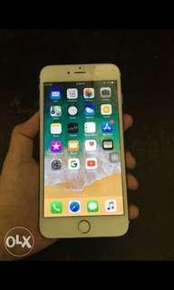 iphone 6plus 16gb gold