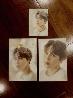 (WTS) Jimin exhibition photocard and postcard
