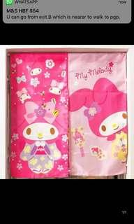 My Melody Japanese style door curtain