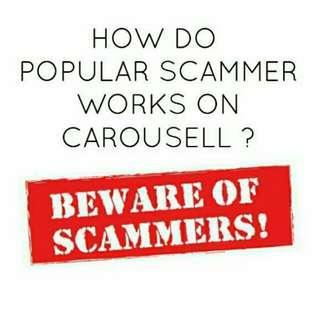 Scammers Alert ⚠