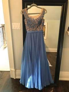 Periwinkle Sherri Hill Dress Size 2