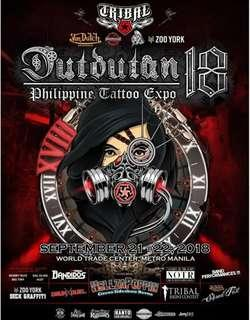 Dutdutan ticket - Day 1 and Day 2
