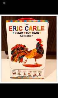 Eric Carle ( 6 books set ) Ready to read collection