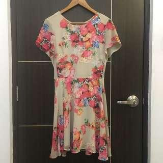 Coincidence & Chance Floral Dress