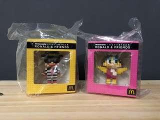 McDonald's x nanoblock Birdie Hamburglar 小飛飛 漢堡神偷