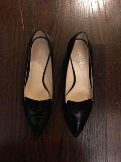 Black Nine West Heels size 7
