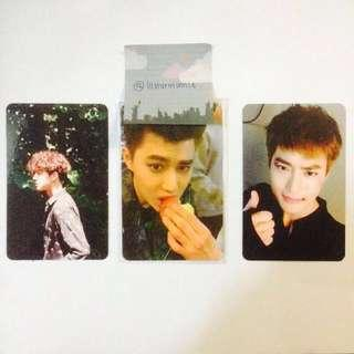 (REDUCED PRICE) EXO Suho Official Photocard The War, Exodus & Sing For You Album