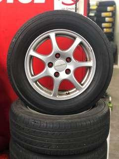 15 inch Tyre and sport rims set